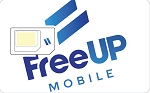 FreeUp Mobile Sim Card